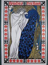 1987 Art Nouveau Stampa ~ Will Bradley il suo libro ~ IL BACIO