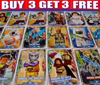 LEGO STAR WARS TRADING CARDS ☆ SERIES 2 (2019)  BUY 3 GET 3 FREE!! SINGLE CARDS