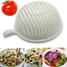 Salad Cutter Bowl Vegetable Fruit Slicer Lightweight Chopper Lettuce Cut Perfect