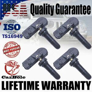 4Pack Tire Pressure Sensors TPMS For Chrysler Dodge Jeep Ram 56029398AB 433MHz