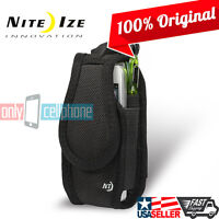 Nite Ize Tall Wallet Belt Clip Case Holster Pouch for iPhone X/8/7 Galaxy S10eS7