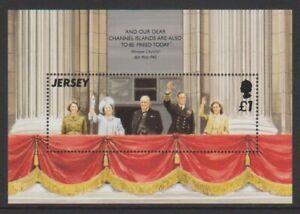 Jersey - 1995, Anniversaire De Liberation Feuille - MNH - Sg