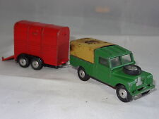corgi LANDROVER WITH RICE PONY TRAILER GS2 GIFTSET 2
