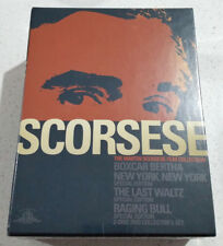 The Martin Scorsese Film Collection DVD Box Set - Region 1 NEW