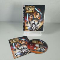 *American* Star Wars The Clone Wars Republic Heroes PS3 Game Manual NTSC-U
