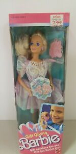 Gift Giving Barbie Doll #1205 Never Removed from Box 1988 Mattel, Inc.