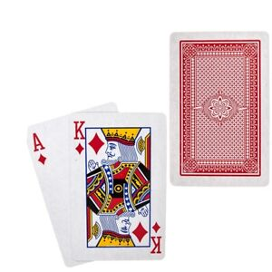 PROFESSIONAL100% PLASTIC PLAYING CARDS WASHABLE WATERPROOF POKER DECK 1 PACK