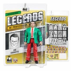 Legends of Professional Wrestling Figures: Jim Cornette [Red & Green Variant]