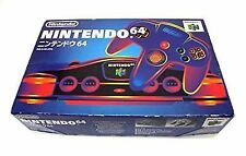 N64 Nintendo 64 Console Official Gamepad Equipment Jap Boxed