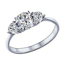 MIRKADA Damen 925 Sterling Silber Ring mit SWAROVSKI Zirkonia Gr. 56 * NEU *