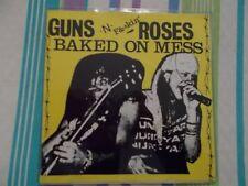 """GUNS N ROSES GUNS N FUCKIN ROSES BAKED ON MESS 7"""" VINYL VERY RARE"""