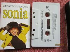Sonia – Everybody Knows Label: Chrysalis – ZCHR 1734  Tape Cassette Album