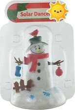 NEW Solar Powered Dancer Christmas Winter Frosty the Snowman Bobble Head Toy!