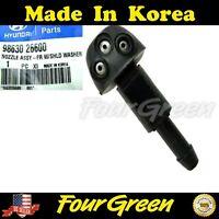 Left Genuine Hyundai 98630-2B000 Windshield Washer Nozzle Assembly