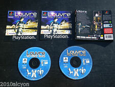 JEU Sony PLAYSTATION PS1 PS2 : LOUVRE The Final Curse (complet, anglais)