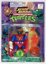 Playmates Toys vintage TMNT Teenage Mutant Ninja Turtles Super Mike MOC