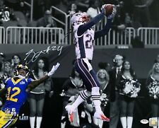 Stephon Gilmore autographed signed 16x20 photo New England Patriots PSA COA