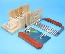 2 Tool Set Soap Mold Loaf Cutter Adjustable Wood Beveler Planer Dish Box Cutting