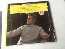 Beethoven Symphonie N°5 en ut mineur H Von Karajan Philarmonique de Berlin vinyl