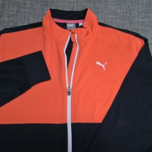 PUMA SOFT POLY SPANDEX WARM CELL GOLF JACKET-STUNNING LOOK!--EXCEPTIONAL QUALITY