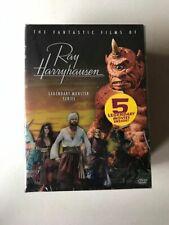 Ray Harryhausen Legendary Monster Box Set DVD - Brand New, Never Opened