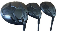 New Power Play Juggernaut graphite Senior complete 10.5 driver 3,5 golf wood set