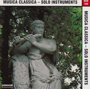 SONOTON Musica Classica - Solo Instruments SCD 155 SAMPLE CD 1996 RAR & NEUWARE