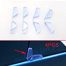 4X Car Door Edge Guard Protector Scratch Rubber Strip Antirub Anticollision Trim