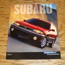 Original 1998 Subaru Full Line Sales Brochure 98 Outback Forester Impreza