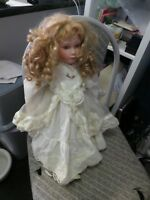 VINTAGE/ANTIQUE  DOLL APPROX 50 YEARS OLD FLORENCE 59/1200 PRODUCED QUITE PRETTY