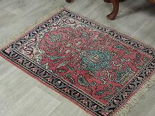 90x65 cm schöne handgeknüpften Kaschmir-seide Teppich kashmir-Silg rug No:77
