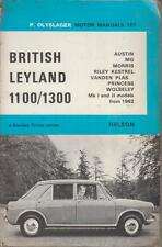 AUSTIN MORRIS MG RILEY WOLSELEY VANDEN PLAS 1100 1300 1962 - 1971 REPAIR BOOK