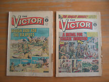 THE VICTOR 1972 May - Dec 33 issues #585 to #619**  weekly British comic book
