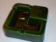 CENDRIER L SIPA FRANCE vert green grun ASHTRAY Aschenbecher FRANCE ceramique