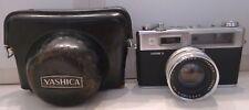 Yashica Electro 35 35mm Camera +Yashinon DX f:45mm 1:1.7 Lens +Yashica Case