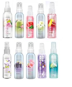 AVON NATURALS SCENT SPRITZ room linen body spray mist cherry vanilla lily mango