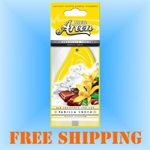 Vanilla Choco Air Fresheners for Car or Home