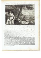 """1825 Vie des Saints: """"Saint Gilles"""" Sant'Egidio (Aegidius Égide sent Gely Geris)"""