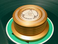 🎸 GALET PRESSEUR GOLD 3 EN 1  POUR TOUTES PLATINES VINYLE 🎸