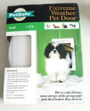 Petsafe Extreme Weather Pet Door Small 1-15 lb Energy Efficient 3 Flap System