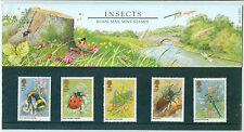 1985 GB, 'Insects', Royal Mail Stamps Presentation Pack (No. 160)