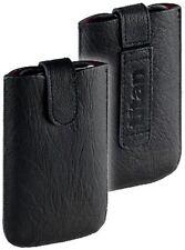 Titan Leder Tasche Etui Case für Sony Ericsson Xperia Pro MK16i