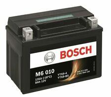 Bosch M6010 Batterie pour Moto 12 V - Noire (YTX9-4)