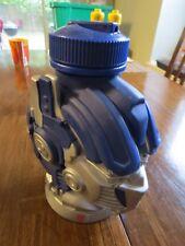 Universal Studios Transformers Optimus Prime Drink Water Bottle Blue flip top