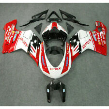 Red White ABS INJECTION Fairing Bodywork For DUCATI 1098 848 1198 2007-2012 2011
