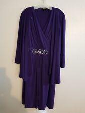Women's 2 Pc Dress. 20W.  S.L. Fashions from David's Bridal. Purple