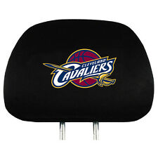 Pair of Cleveland Cavaliers Head Rest Covers - NEW! NBA Truck Car Cavs Headrests