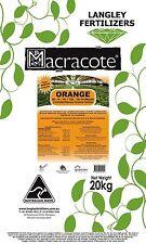 Macracote Orange Fertiliser 20kg CRF 12 months Garden Pots Langley Fertilizer