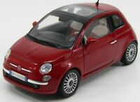 FIAT 500 1:18 Diecast Car Model Die Cast Cars Models Metal Miniature Cars Nuova