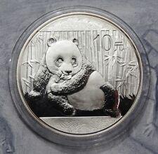 10 Yuan 2015 - China - Panda  999er Silber / 31,10 g